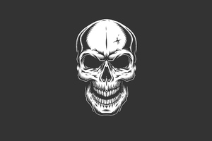 Skull Dark Hd Wallpaper