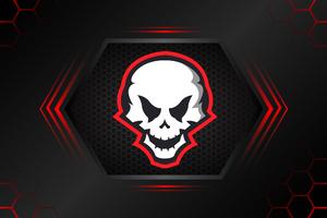 Skull Minimal Art 4k