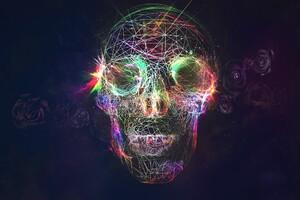 Skull Roses Artist Wallpaper