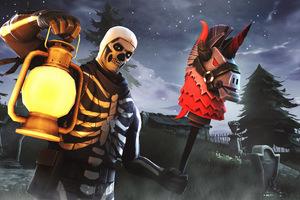 Skull Trooper Fortnite Season 6 4K