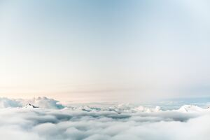 Sky Clouds 5k Wallpaper