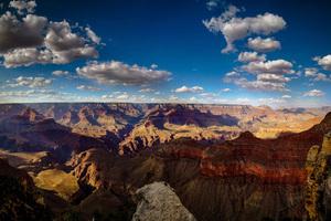 Sky Clouds Mountains Canyon 4k Wallpaper