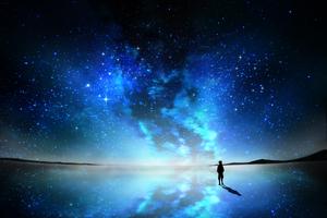Sky Full Of Stars Anime Wallpaper