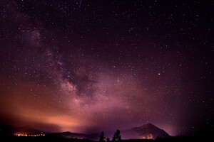 Sky Full Of Stars Long Exposure Galaxy 5k
