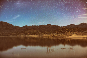 Sky Full Of Stars Nature Landscape 5k