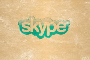 Skype Logo Wallpaper