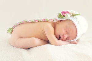 Sleeping Baby Wallpaper