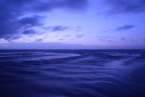 Slik Blue Tone Water Ocean 4k