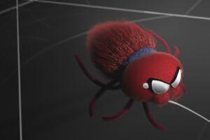 Small Spider Art