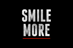 Smile More Wallpaper