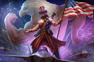 Smite Freedom Overload Wallpaper