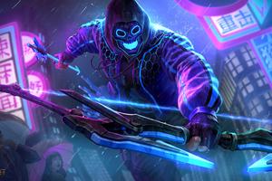 Smite Neon Hero
