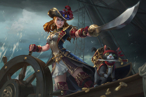 Smite Pirate Admiral 4k Wallpaper