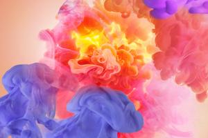 Smoke Colors Abstract