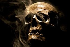 Smoke Skull Wallpaper
