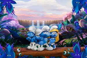 Smurfs The Lost Village 4k 5k Wallpaper