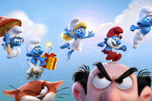 Smurfs The Lost Village Official Wallpaper