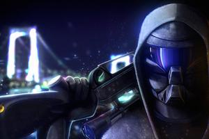 Sniper 2D Art