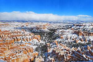 Snow At Bryce Canyon National Park 5k Wallpaper