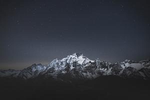 Snow Caps Mountains Landscape 5k Wallpaper