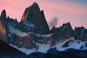 Snow Mountain Argentine Santa Cruz 4k Wallpaper