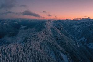 Snow Mountains Landscape 4k Wallpaper