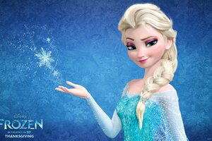 Snow Queen Elsa In Frozen