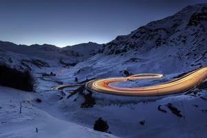 Snow Road Timelapse