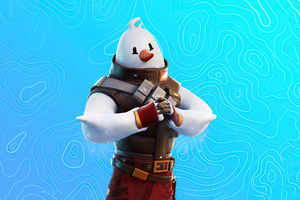 Snowmando Outfit Fortnite 4k Wallpaper