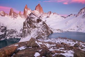 Snowy Mountains 4k