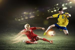 Soccer Players Football 4k Wallpaper
