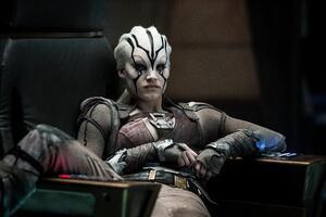 Sofia Boutella in Star Trek Beyond Wallpaper