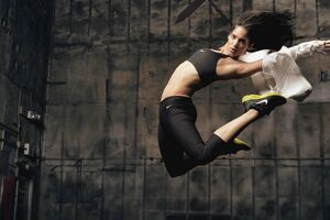 Sofia Boutella Nike Wallpaper