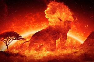 Solar Nocturnal Lion