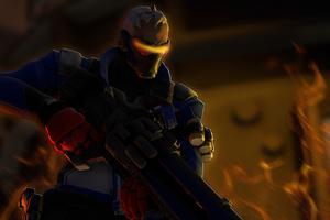 Soldier 76 Overwatch 4k Wallpaper