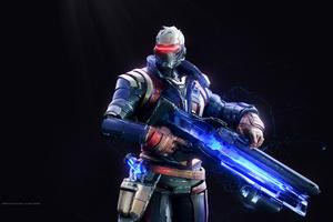 Soldier 76 Overwatch Wallpaper