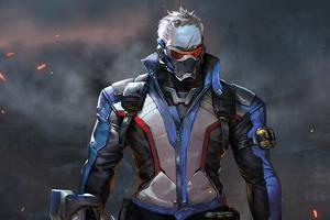 Soldier76 Overwatch Wallpaper