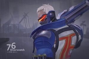 Solider 76 Overwatch 4k
