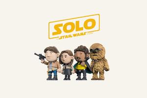 Solo A Star Wars Story 4k Art Wallpaper