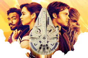 Solo A Star Wars Story 4k Poster
