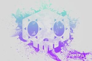 Sombra Overwatch 4k Logo