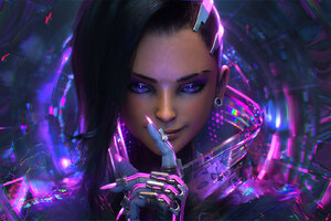 Sombra Overwatch Artwork