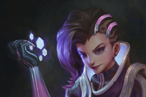 Sombra Overwatch Game Girl