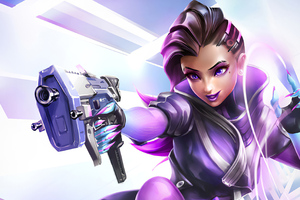 Sombra Overwatch Video Game 4k Wallpaper