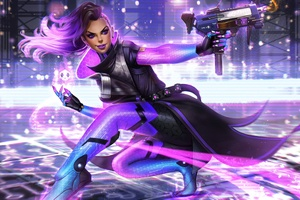Sombra Overwatch Warrior