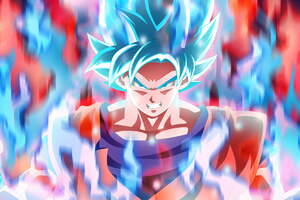 Son Goku Super Saiyajin Blue 5k