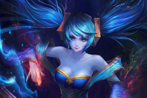 Sona League Of Legends 5k