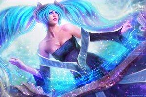 Sona League Of Legends Wallpaper