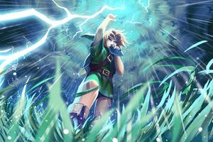 Song Of Storms The Legend Of Zelda 4k