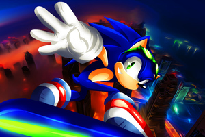 Sonic Riders Un Gravitify 5k Wallpaper